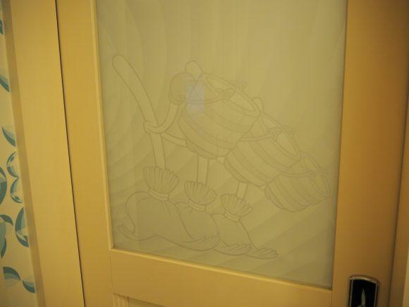 アンバサダーホテル お風呂のドア