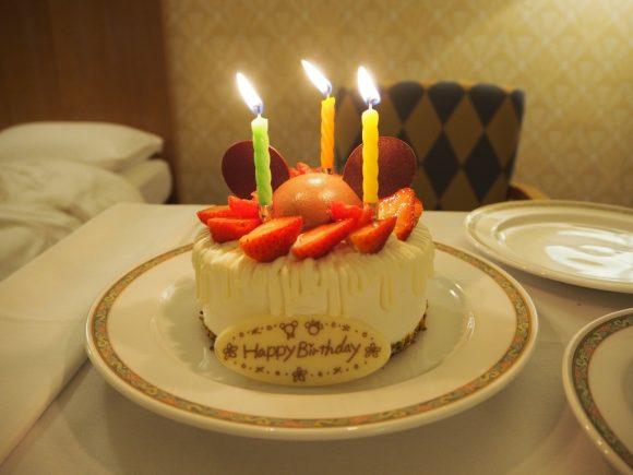 アンバサダーホテル オリジナルケーキ