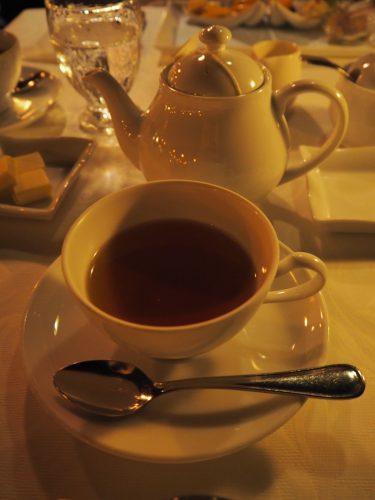 ブルーバイユーレストラン 紅茶