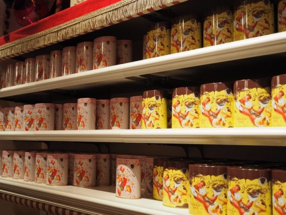 チョコレートクランチ ピック&マンチ 缶棚