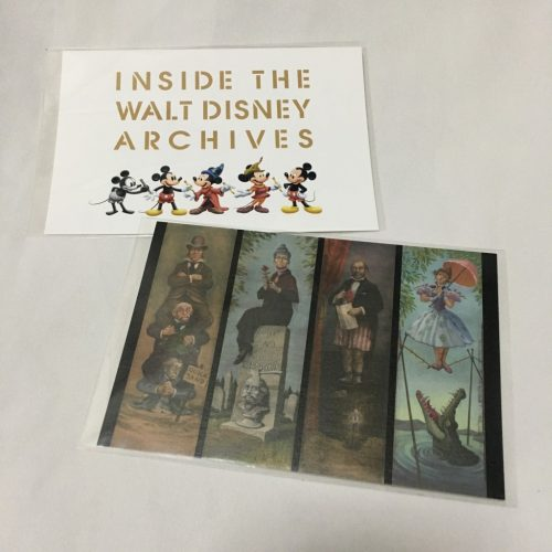 ウォルト・ディズニー・アーカイブス展 ホーンテッドマンション ポストカード