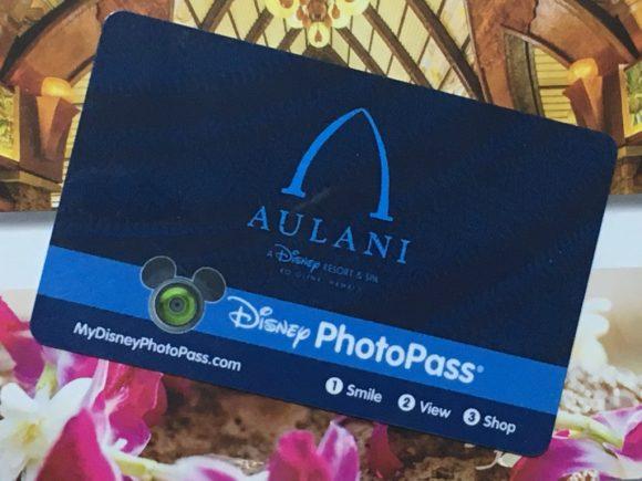 アウラニ PhotoPassカード