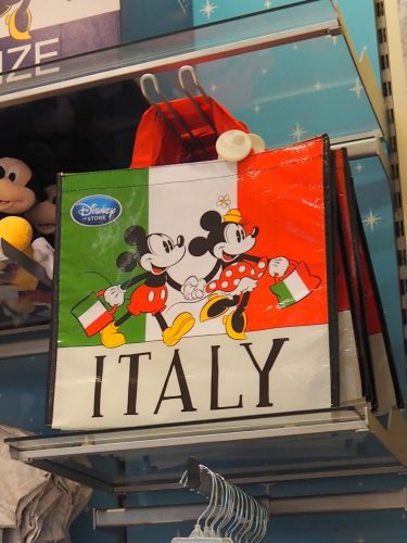 ディズニーストア イタリア バッグ