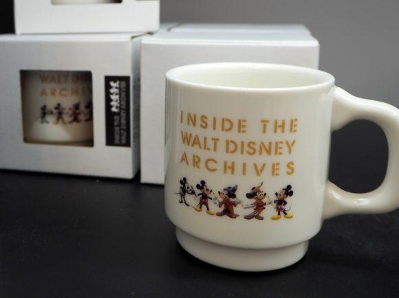 ウォルト・ディズニー・アーカイブス展 マグカップ
