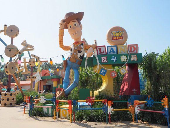 香港ディズニーランド トイストーリーランド