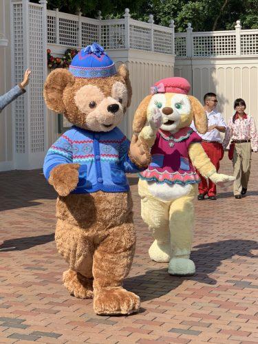 香港 クリスマス ダッフィー&クッキー