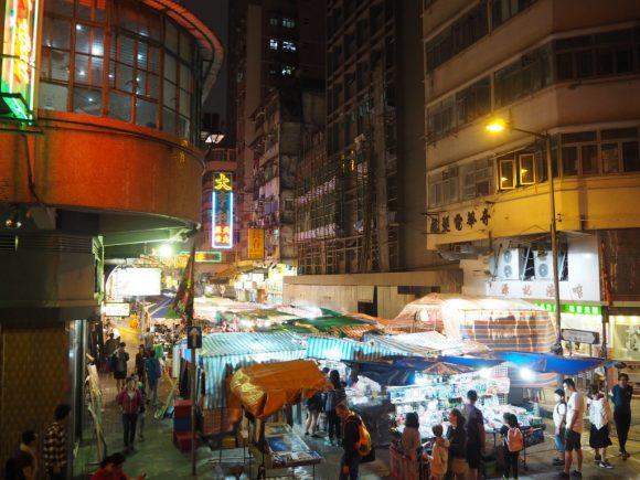 香港 オープントップバス 女人街