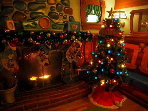 ミッキーの家 クリスマス