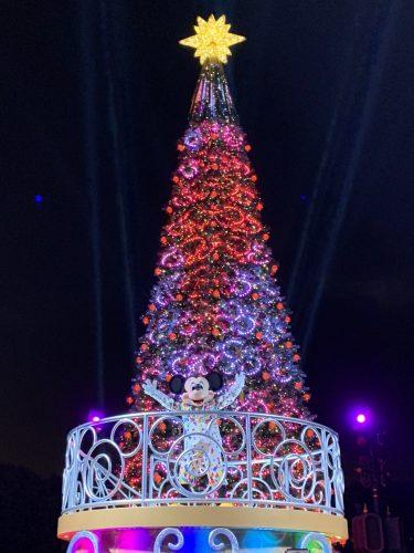香港 We Love Mickey! ツリー