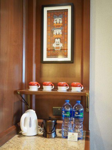 エクスプローラーズロッジ お茶セット&水