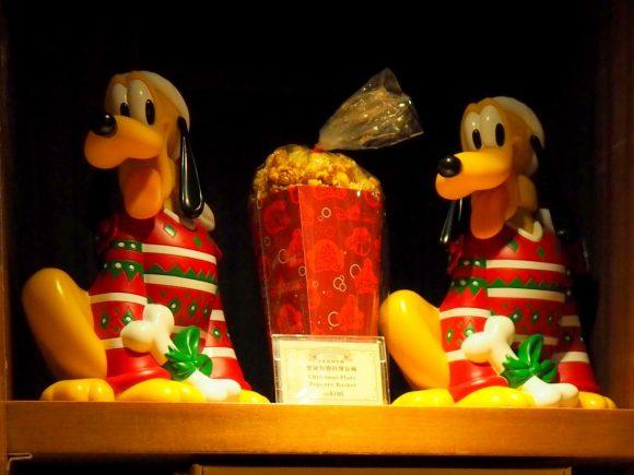 香港ディズニーランド クリスマス プルートポップコーンバケット