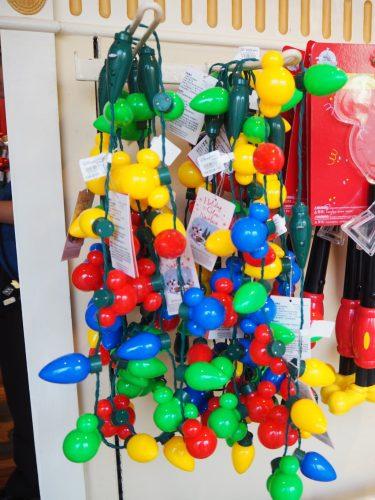 香港ディズニーランド クリスマス イルミネーションライト