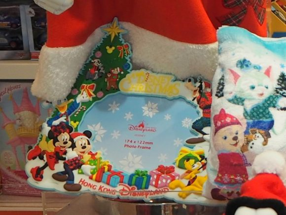 香港ディズニーランド クリスマス フォトフレーム
