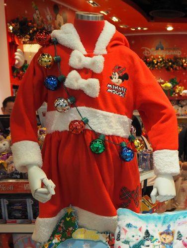 香港ディズニーランド クリスマス サンタコスチューム