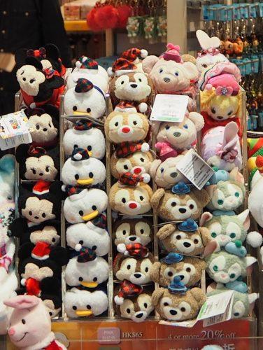 香港ディズニーランド クリスマス ツムツム