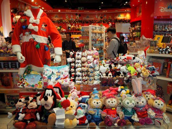 香港ディズニーランド クリスマス グッズ