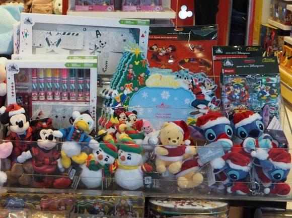 香港ディズニーランド クリスマス ぬいぐるみキーチェーン