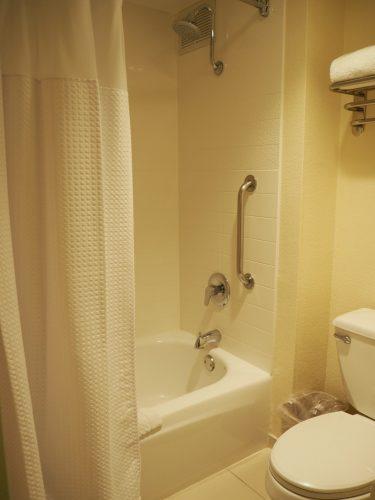 フェアフィールドインマリオット お風呂&トイレ