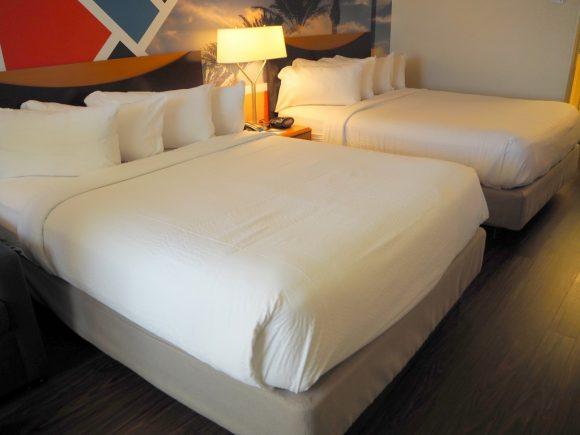 フェアフィールドインマリオット ベッド