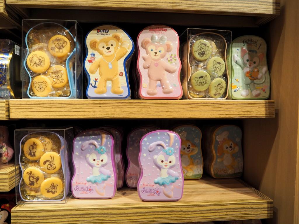 香港ディズニーランド ダッフィーのお菓子