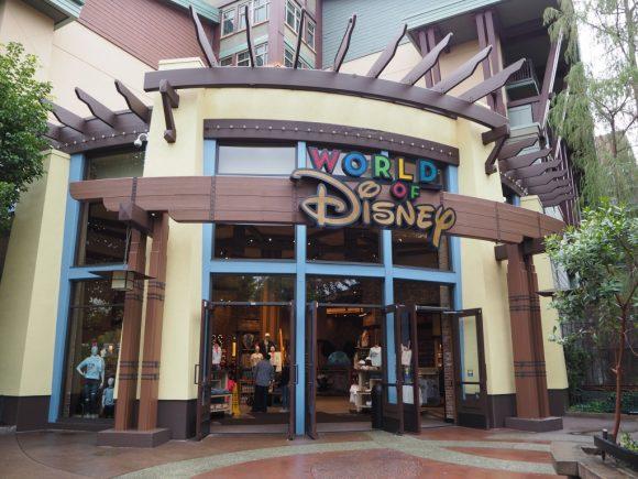カリフォルニア ワールド・オブ・ディズニー