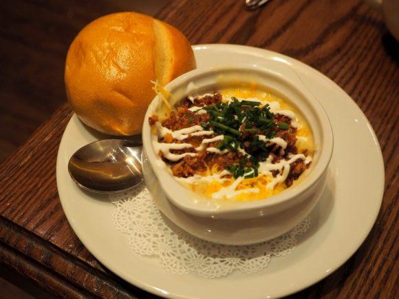 カーネーションカフェ ベイクドポテトスープ