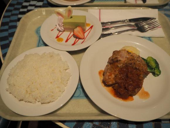 プラザパビリオンレストラン 料理