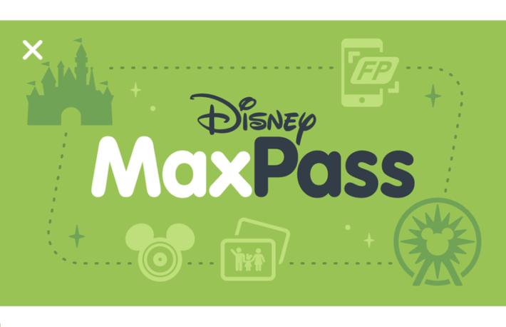 カリフォルニア・ディズニー MaxPass