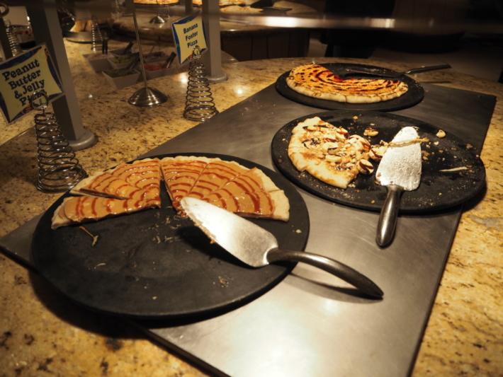 グーフィーズキッチン スイーツピザ