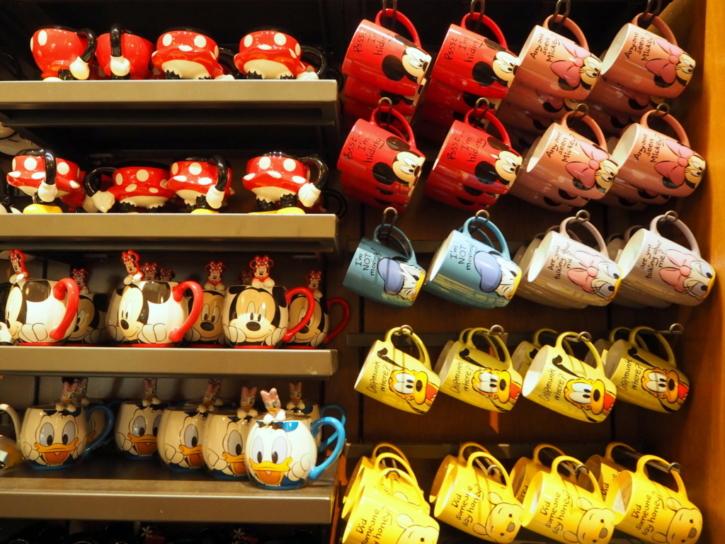 上海ディズニー マグカップ