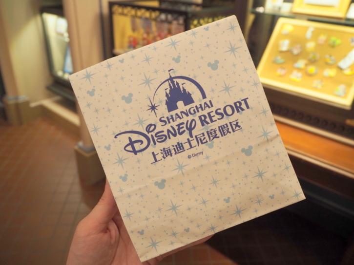 上海ディズニー 紙袋