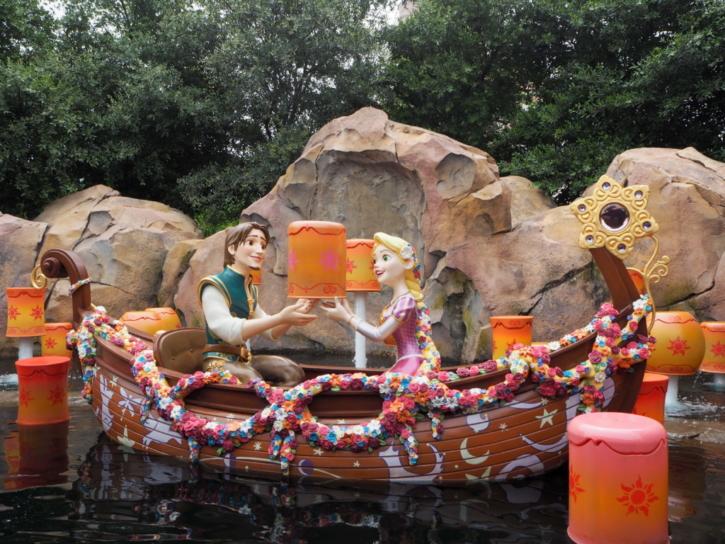 上海ディズニーランド クリスタル・グロッドへの旅