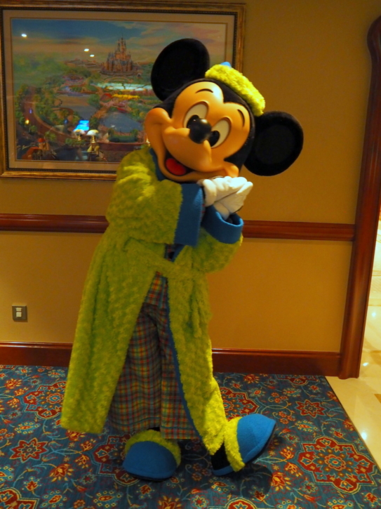 上海ディズニーランドホテル パジャマミッキー