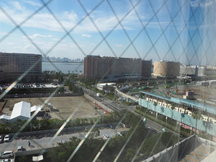 シェラトングランデトーキョーベイ パークウイングルーム 窓からの眺め