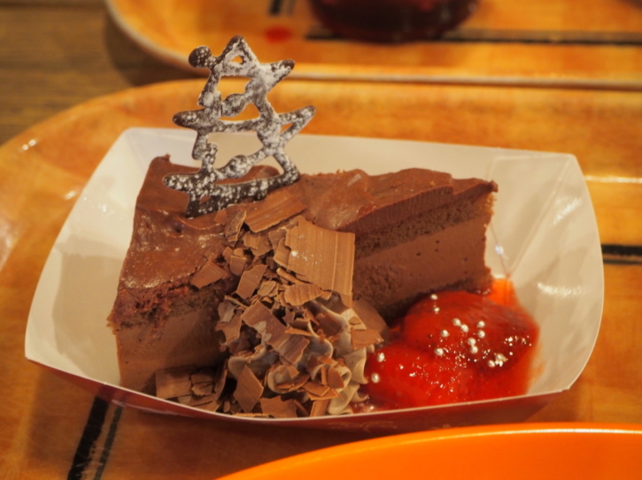 ミゲルズ・エルドラド・キャンティーナ チョコレートケーキ