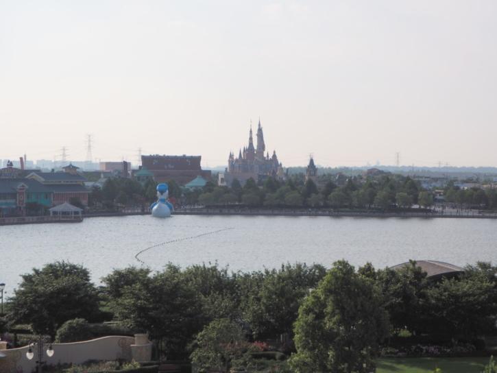 上海ディズニーランドホテル 客室からの眺め
