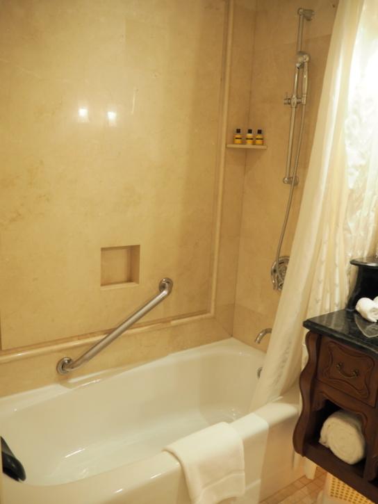 上海ディズニーランドホテル お風呂