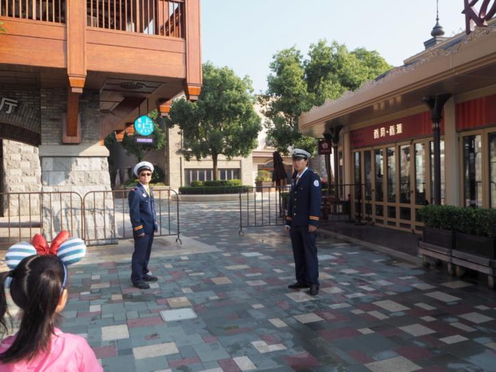 上海ディズニーランド ディズニーホテルゲスト専用ゲート