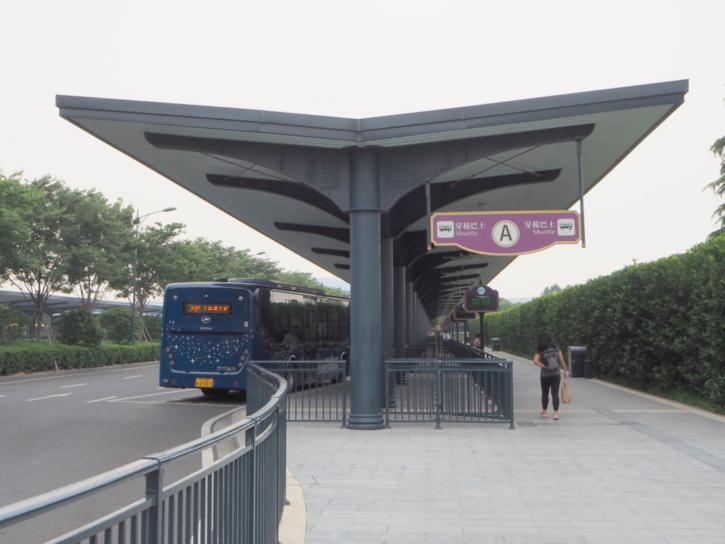 上海ディズニーランド シャトルバス乗り場