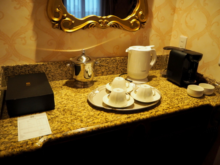 ミラコスタ・スイート お茶&コーヒー