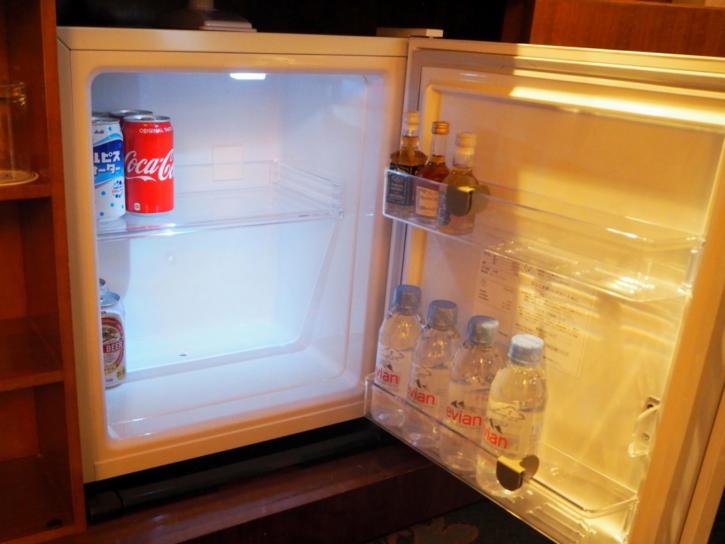 ミラコスタ・スイート 冷蔵庫