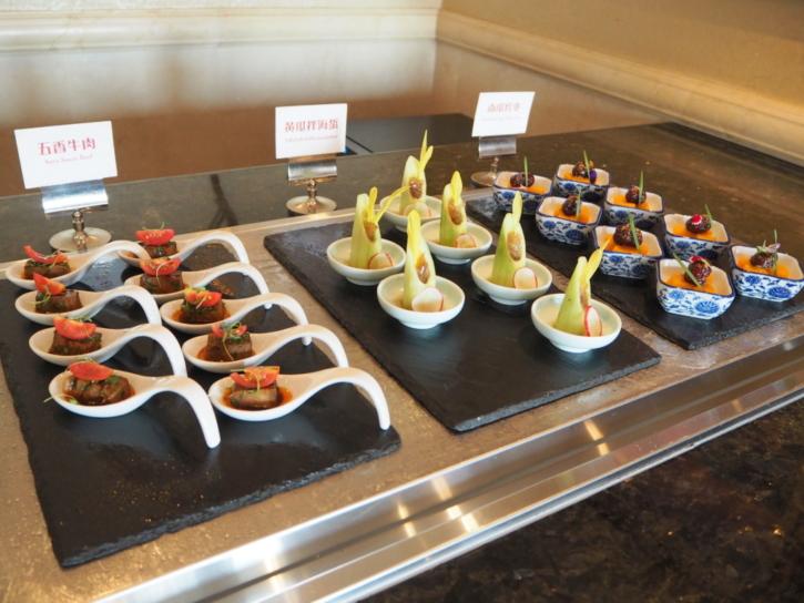 上海ディズニーランドホテル ラウンジ 牛肉