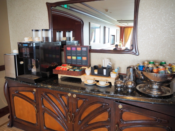 上海ディズニーランドホテル ラウンジ コーヒー紅茶