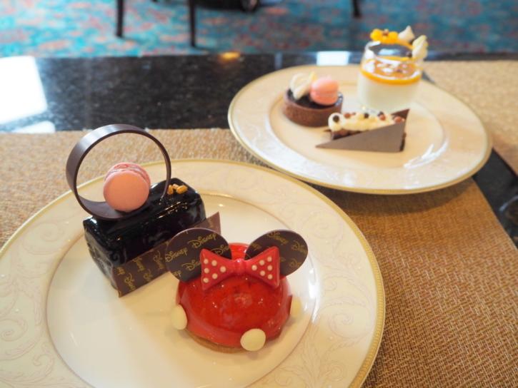上海ディズニーランドホテル ラウンジ ケーキ各種