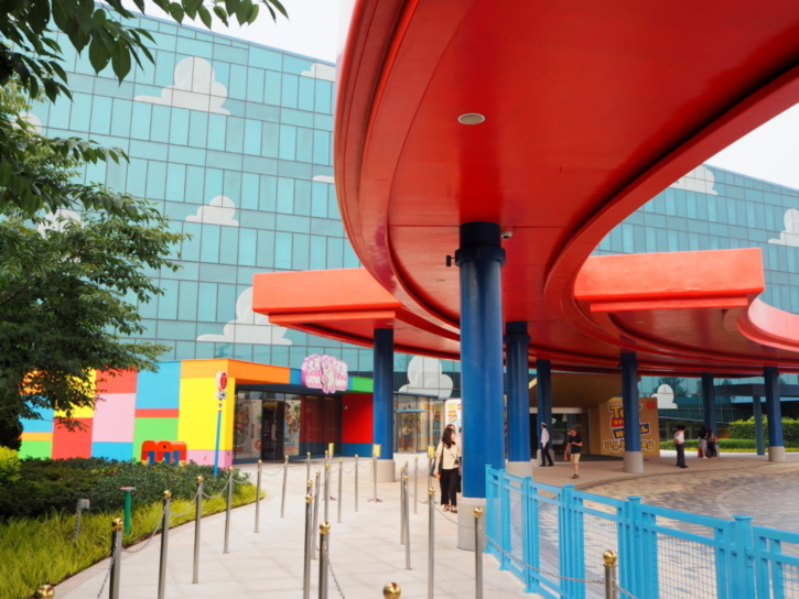 上海 トイストーリー・ホテル バス停