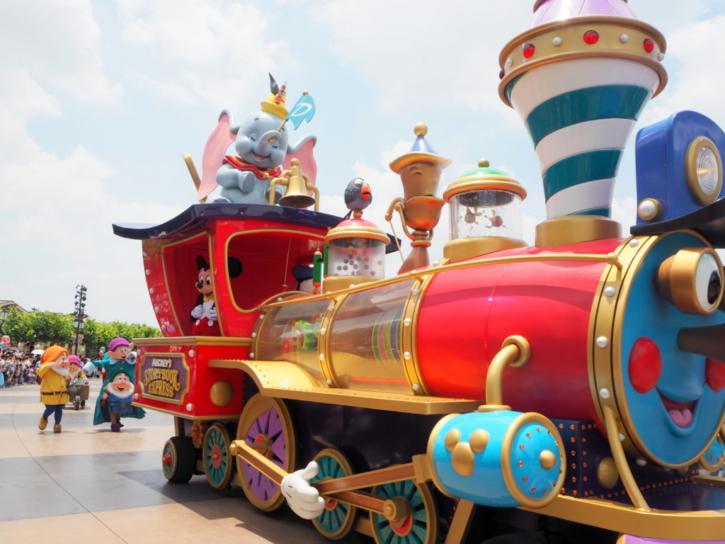 ミッキーのストーリーブックエクスプレス 機関車