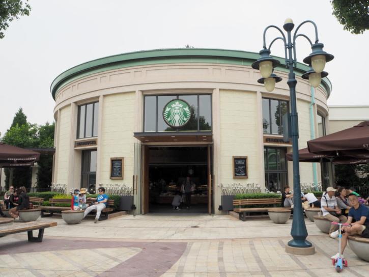 上海ディズニーランド スターバックスコーヒー