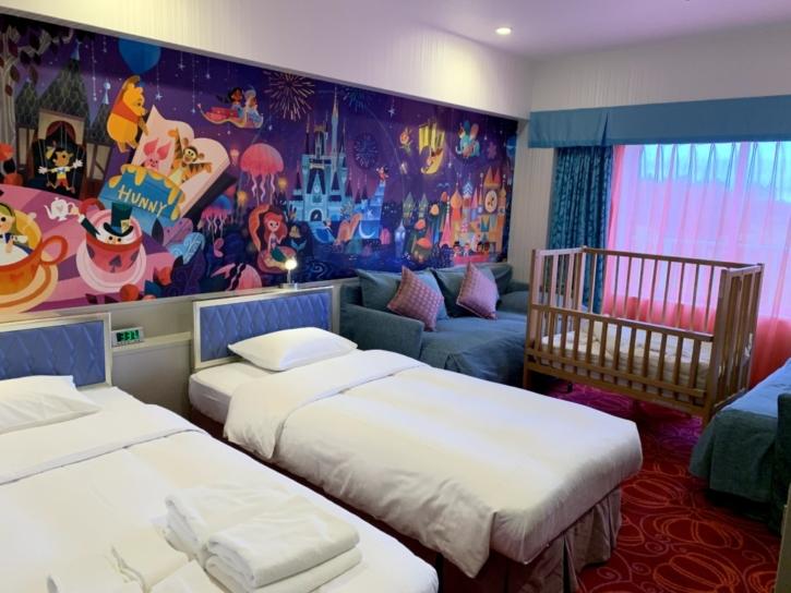 東京ディズニーセレブレーションホテル 客室