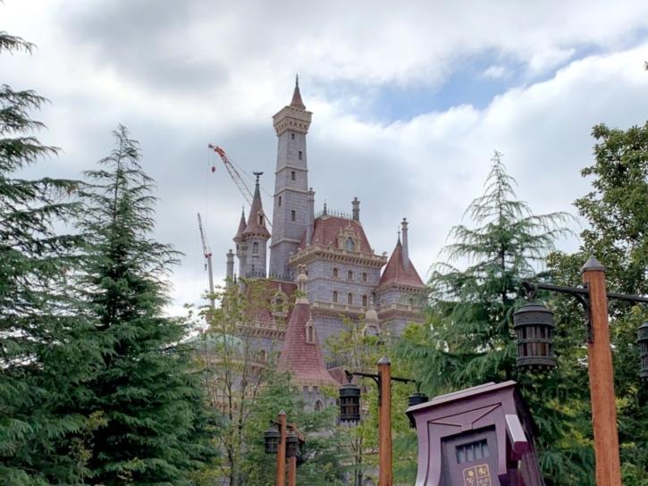 美女と野獣の城 ディズニーランド