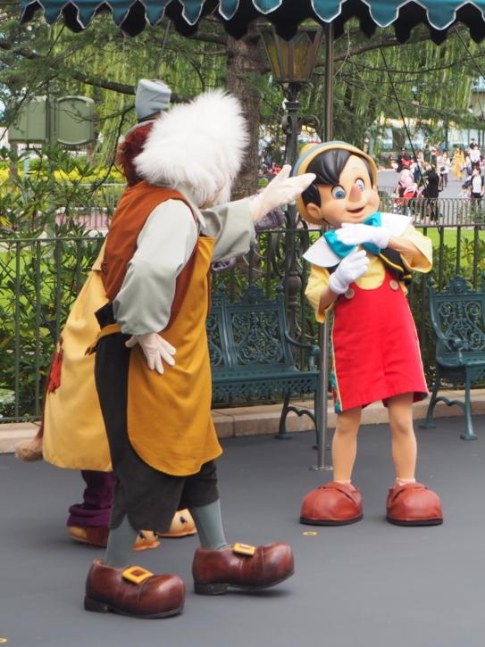 ピノキオ グリーティング